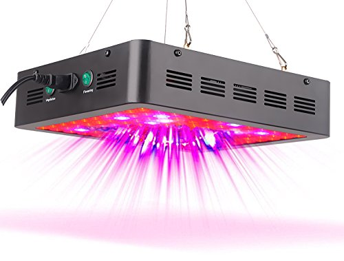 Stansen LED Grow Light 600W Full Spectrum for Indoor Plants Veg and Flower G600 by Stansen