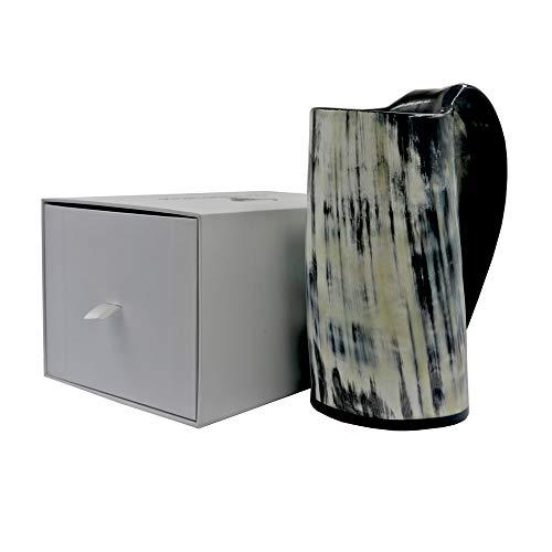 Viking Drinking Mug-Natural Ox Horn Drinking Mugs Beer Cups Viking Mugs by HORATII (Image #7)