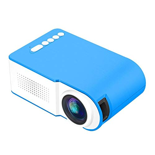 WZHESS 320240 Resolution Led Mini Projector, 24-80 Inch Screen Portable Device Home Theater Theater Indoor EU Plug/US Plug/UK Plug (Best Mini Projector Philippines)