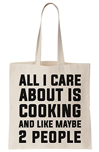 Care 2 Bag About Canvas Maybe I Cooking Is Tote And Like All People O785xS