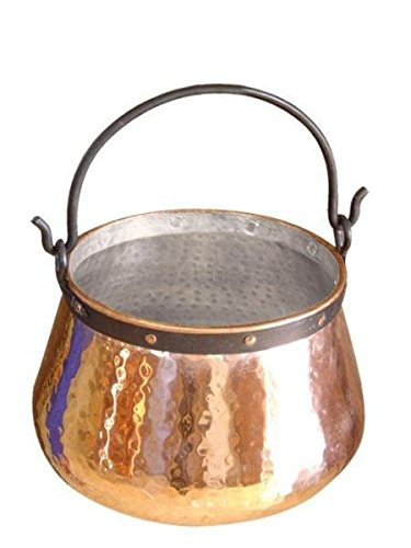 """CopperGarden""®"" 5 L copper cauldron/witches' cauldron, tin-lined ""CopperGarden®"""