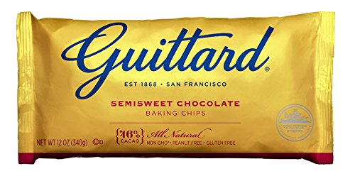 - E Guittard Akoma Extra Semi Sweet Chip Fair Trade, 12-Ounce (Pack of 3)
