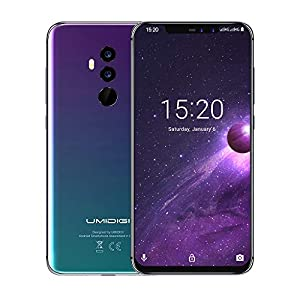 UMIDIGI Z2 6.2″ FullView Display(19:9 Ratio)- 64GB ROM+6GB RAM Unlocked Cell Phone – Dual Sim 4G Volte Unlocked Smartphone -16MP+8MP Dual Camera – 3850mAh Battery -Android 8.1 Cellphone (Twilight)