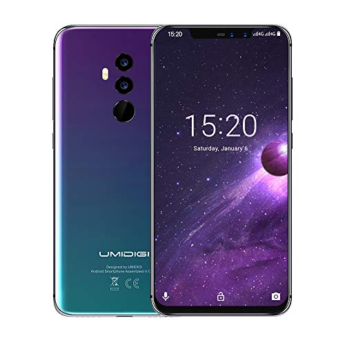 UMIDIGI Z2 6.2″ FullView Display(19:9 Ratio)- 64GB ROM+6GB RAM Unlocked Cell Phone – Dual Sim 4G Volte Unlocked Smartphone -16MP+8MP Dual Camera – 3850mAh Battery -Android 8.1 Cellphone (Twilight) post thumbnail