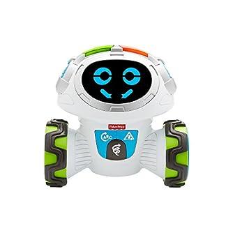 Fisher-Price FKC35 Lern-Roboter Movi interaktiver Lernspielzeug Roboter deutschsprachig, ab 3 Jahren 12
