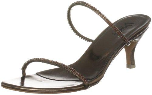 Unze Evening Sandals L18783W - Sandalias para mujer Marrón