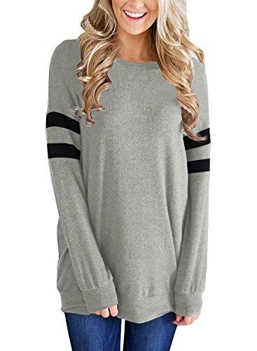 Dokotoo Womens Lightweight Sleeve Sweatshirt