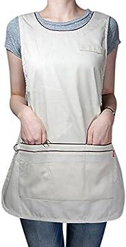 YUENA CARE Cobbler Apron Work Wear Chefs Waiters Apron Sleeveless Vest Waistcoat Cosplay Costume