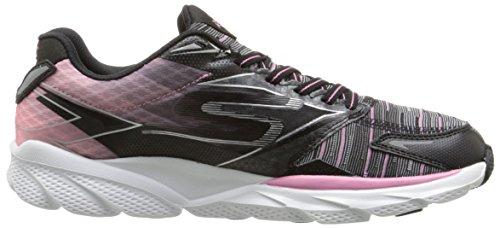 Skechers Go Run Ride 4 Excess - Zapatillas de running Mujer Black/pink