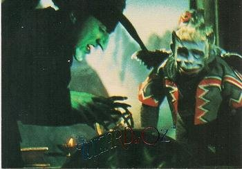 The Wicked Witches Crystal Ball instructs the Winged Monkeys trading card (The Wizard of Oz) 1996 DuoCards #55