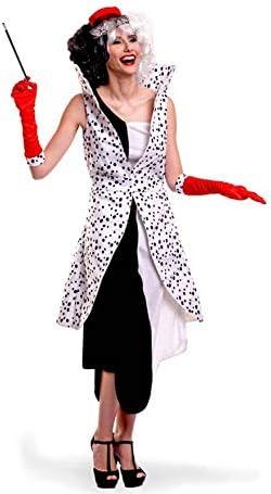 Disfraz de Villana Dálmata para mujer: Amazon.es: Juguetes y juegos