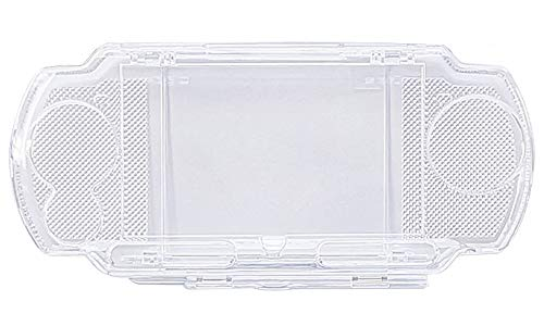 OSTENT Protector Clear Crystal Travel Carry Hard Cover Case Shell Compatible for Sony PSP 2000 3000