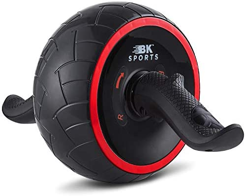 BK Sports Ab Roller Wheel for Abs Workout – Ab Roller Wheel Abdominal Exercise Equipment – Train at Home Like a Professional 2020 New 4