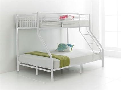 Letto a castello per 3 persone, con letto singolo (91,4 cm)