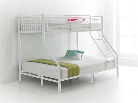 Letto a castello per 3 persone, con letto singolo (91,4 cm ...