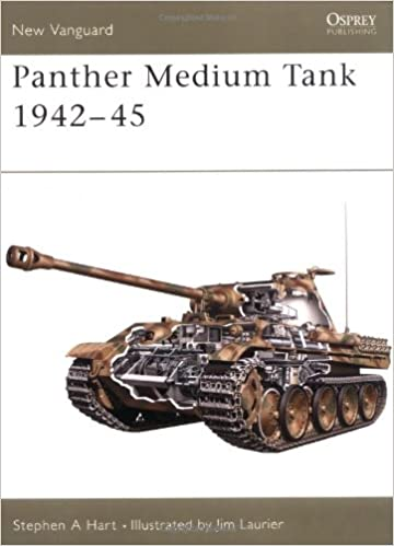 Panther Medium Tank 1942-45 (New Vanguard)