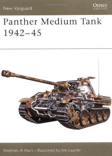 Panther Medium Tank 1942–45 (New Vanguard)