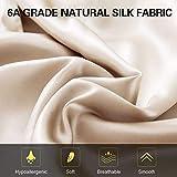 ZIMASILK 100% Mulberry Silk Pillowcase for Hair and