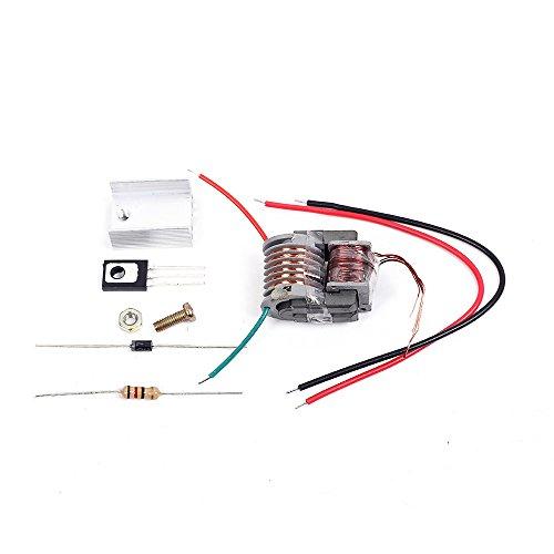 Icstation DIY 15KV 15000V High Voltage Arc Generator Electric Lighter Ignition Coil Kit
