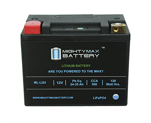 Lithium Iron Phosphate 12V 35AH 480CCA Starting Battery for Golf Cart - Mighty Max Battery brand product