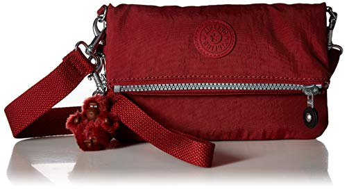 Kipling Lynne 3-in-1 Solid Handbag, Brick Red by Kipling