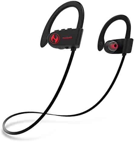 Hussar Magicbuds 2 Next Generation Bluetooth Headphones, Wireless Sports Earbuds with Mic, IPX7 Waterproof, Stereo HD Sound, Noise Cancelling, Secure Fit, Selectable Sound Effects, 12-hour Battery