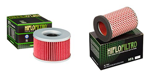 Oil and Air Filter Kit for HONDA GL500 Silver Wing PC02 81-82 HIFLO FILTRO