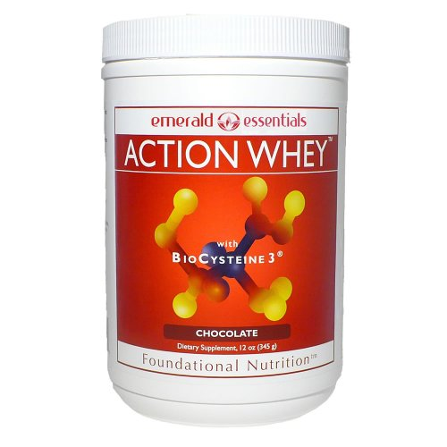 Emerald Essentials - Action Whey Protein Shake - Chocolate (Amp Amplified Gold)
