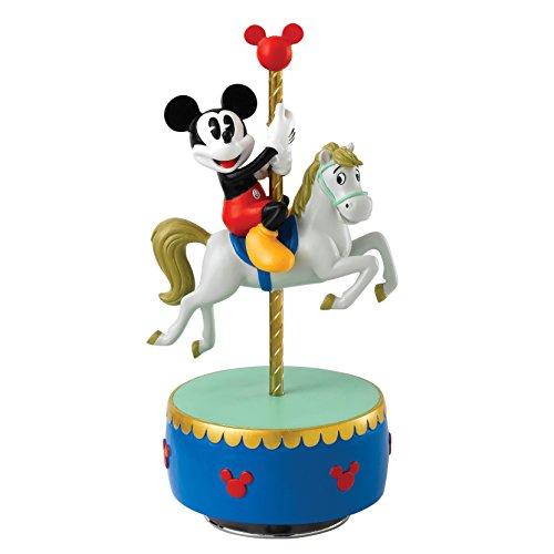 - Enchanting Disney A28074 Come to the Fair Mickey Mouse Carousel Musical