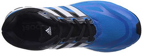 Adidas Response Boost Tech - Zapatillas de running para hombre, Multicolor Multicolor (SOLBLU/RUNWHT/Black1)