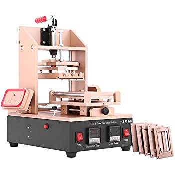 Happybuy Screen Separator 5 In 1 LCD Screen Separator Removal Machine Glue Frame Remover LCD Separator Machine for IPhone Samsung Sony HTC Repair(5 In 1 LCD Screen Separator)