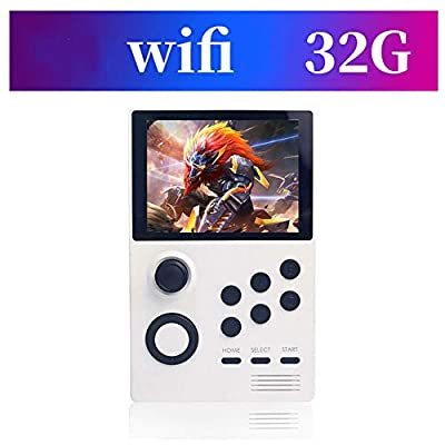 Portable HD Handheld Game Console PSP Open Source Handheld Arcade with WiFi Portable for Kids, Best Birthday Gift,White: Home Audio & Theater