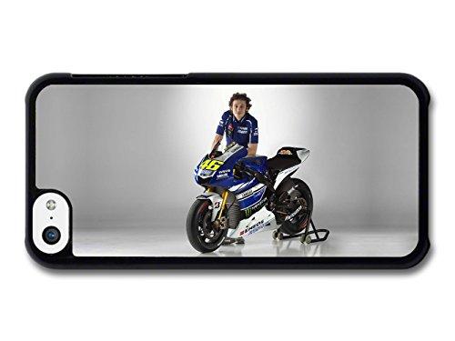 Valentino Rossi 46 MotoGP Driver Portrait coque pour iPhone 5C