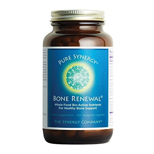 - Pure Synergy Bone Renewal (150 Capsules) Bone Vitamin w/Plant-Based Calcium, Magnesium, D3, K2, Trace Minerals