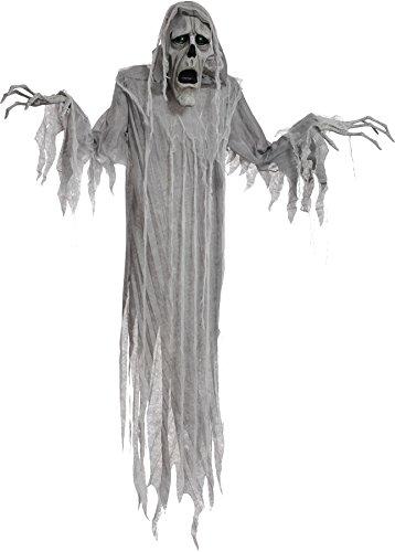 [Hanging Phantom 72 Inches Animated Halloween Prop Haunted House Yard Scary Decor] (Hanging Halloween Props)