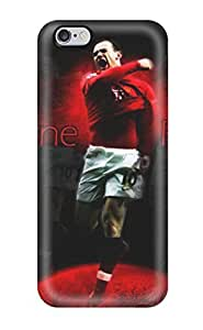 New Snap-on ZippyDoritEduard Skin Case Cover Compatible With Iphone 6 Plus- Wayne Rooney(3D PC Soft Case)