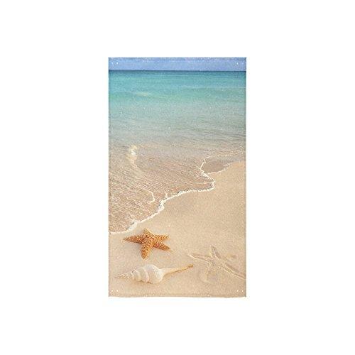 InterestPrint Seashell Starfish Tropical Turquoise Ocean Sea