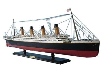 Amazoncom Britannic Limited Wood Cruise Ship Model - Cruise ship model kits