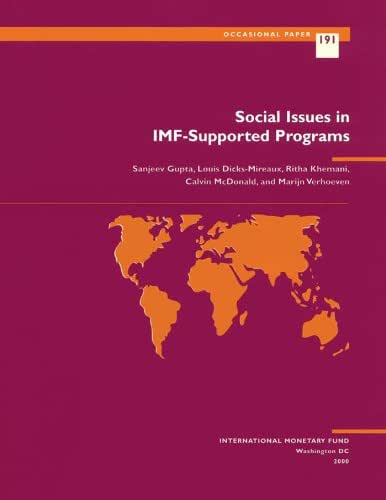 Social Issues in IMF-Supported Programs (International Monetary Fund Occasional Paper)