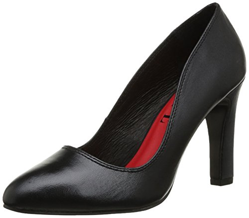 Women Noir Black Shoes Lisse Court Elle apdqA7x