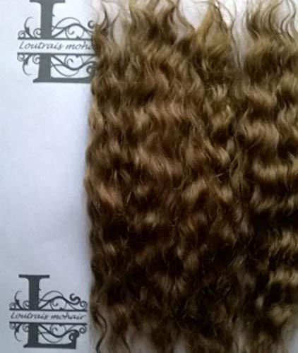 Doll hair Reborn mohair Milk chocolate 10 grams