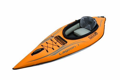 Advanced Elements Lagoon Kayak - Advanced Elements Lagoon 1 Person Inflatable Kayak