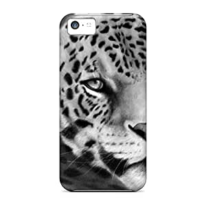 Ideal Cases Covers For Iphone 5c(leopard Silhouette), Protective Stylish Cases