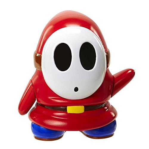 Officially Licensed by Nintendo SHY GUY Collectible Action Figure JAKKS 2 Inch (Shy Guy Action Figure)
