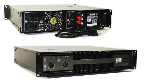 EMB Professional 6500W 2CH POWER Amplifier EB6500PRO by EMB