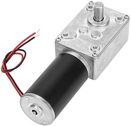 ZJN-JN レデューサーはスピード、ハイねじり速度は8ミリメートルシャフト24V(10RPM)で電気ギアボックスモーターリバーシブルウォームギヤモーターを削減します 工業用モータ