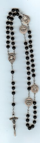 Rosary Papal Crucifix - 5