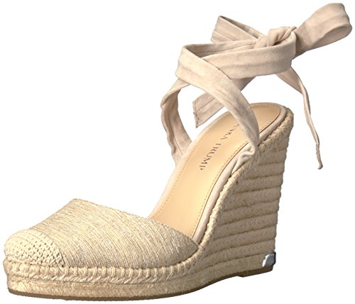 Ivanka Trump Women's Winikka2 Espadrille Wedge Sandal, Natural, 9 Medium US