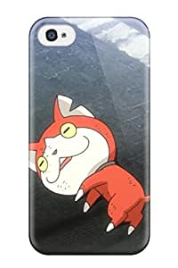 Hot Tpu Shockproof Scratcheproof Youkai Watch Episode 5 Hard Case Cover For Iphone 4/4s