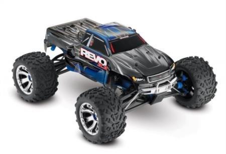 Traxxas Revo 3.3: 1/10 Scale 4WD Nitro-Powered Monster Tr...